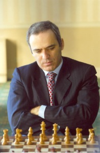 Kasparov extending his mind