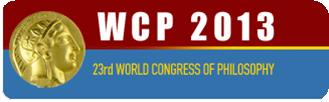 Worl Congress of Philosophy 2013