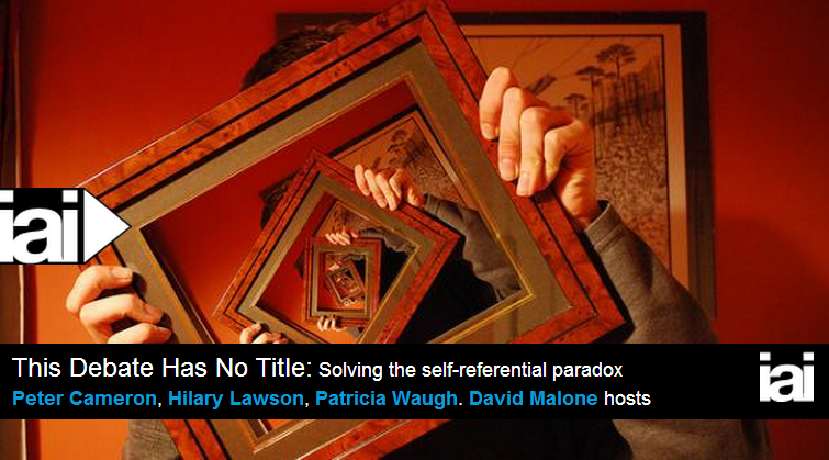This Debate Has No Title: Solving the self-referential paradox