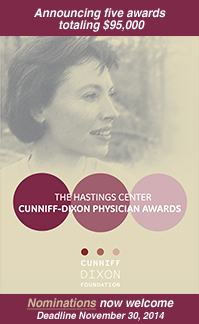 Deadline Extended for Nominations to the Cunniff-Dixon Physician Award