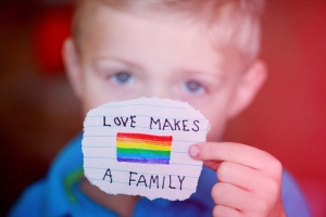 """Love Makes A Family"""