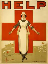 A recruiting poster for Australian nurses from World War I.