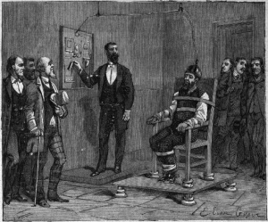 The execution of William Kemmler, August 6, 1890