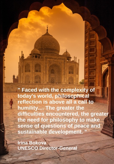 World Philosophy Day Twitter image