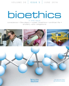 bioethics june 2016 cover