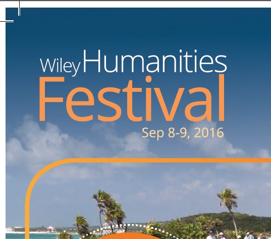 The first ever #WileyHumanitiesFest Has Begun