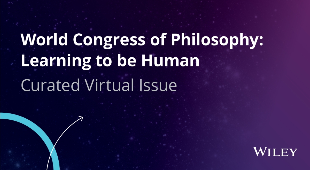 World Congress of Philosophy Virtual Issue